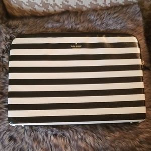 kate spade Bags - Kate Spade New York Striped Laptop Tablet Sleeve